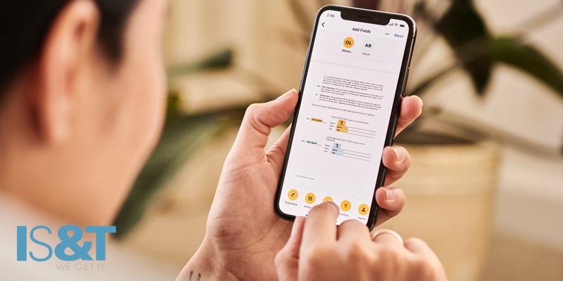 Customer Using Mobile App