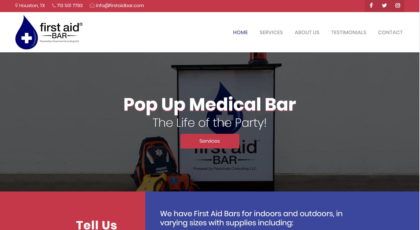 First Aid Bar